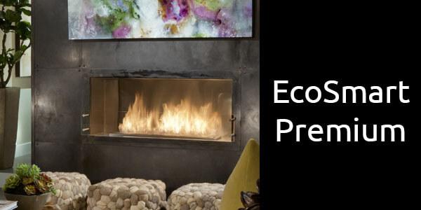 EcoSmart Premium fireboxes