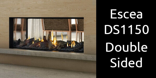 Escea DS1150 double sided