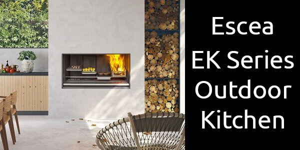 Escea EK Series Outdoor Kitchen
