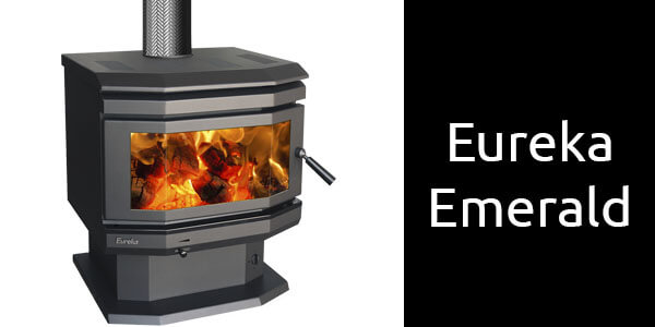 Eureka Emerald freestanding wood heater