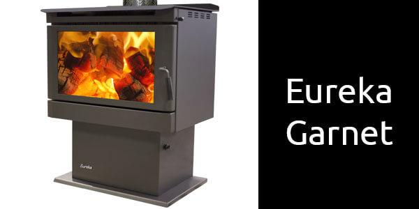 Eureka Garnet freestanding wood fire