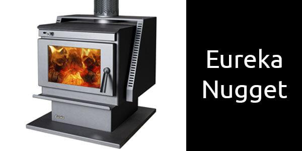 Eureka Nugget freestanding wood heater