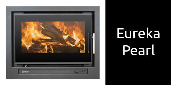 Eureka Pearl inbuilt wood heater