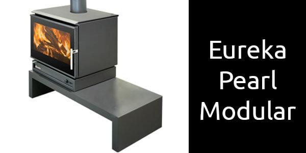 Eureka Pearl modular freestanding wood heater