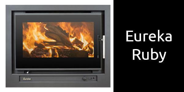Eureka Ruby inbuilt wood heater
