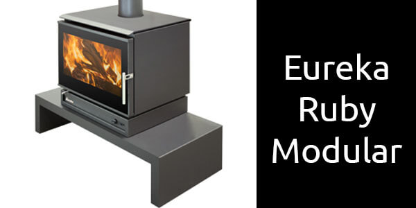 Eureka Ruby Modular freestanding wood fireplace