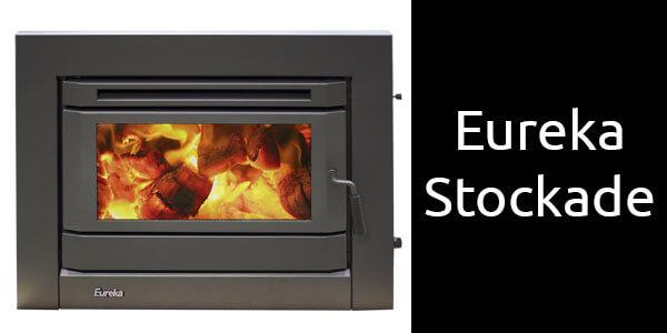 Eureka Stockade inbuilt wood fireplace