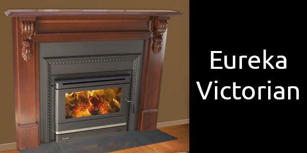 Eureka Victorian wood heater insert