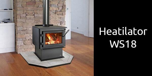 Heatilator WS18 freestanding wood heater