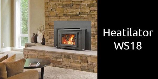 Heatilator WS18 inbuilt wood heater