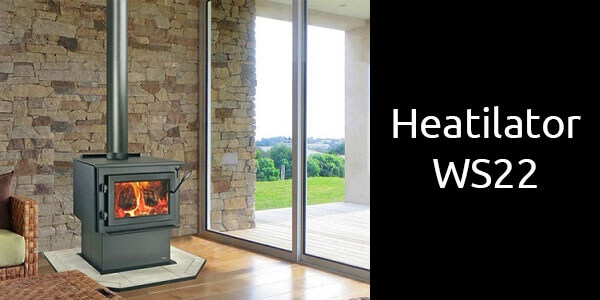 Heatilator WS22 freestanding wood fire