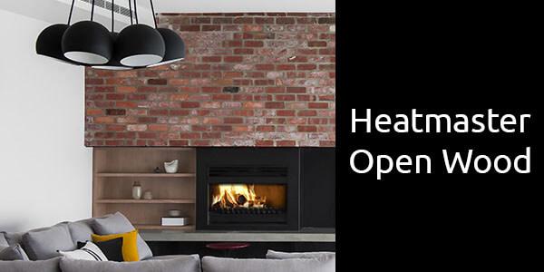 Heatmaster open wood fire