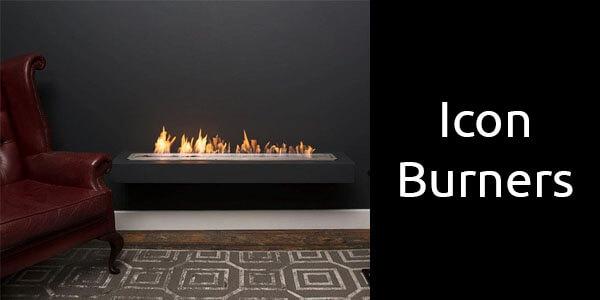 Icon bioethanol burners