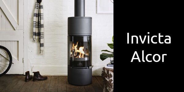 Invicta Alcor freestanding European wood heater