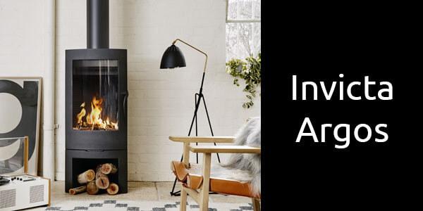 Invicta Argos European freestanding wood heater