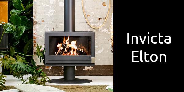 Invicta Elton freestanding wood heater