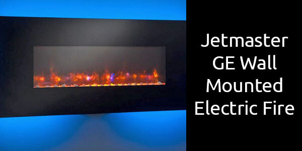 Jetmaster GE Wall Mounted electric fireplace