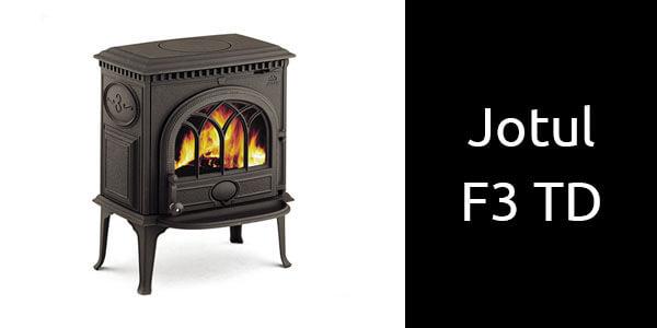 Jotul F3 TD freestanding wood heater