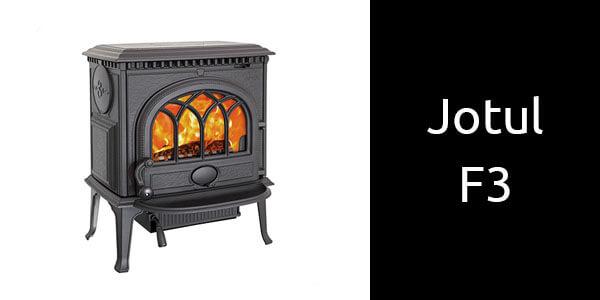 Jotul F3 traditional freestanding wood heater