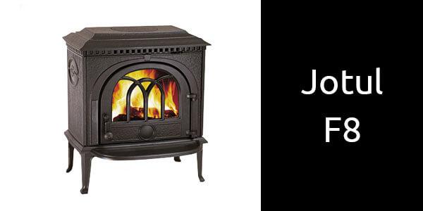 Jotul F8 freestanding wood fireplace