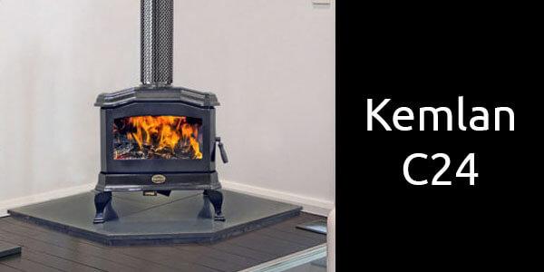 Kemlan C24 freestanding wood heater