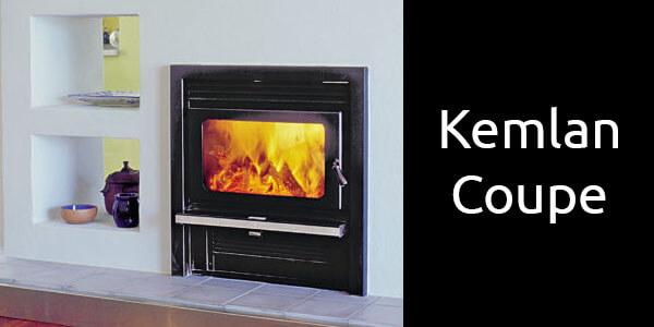 Kemlan Coupe inbuilt wood heater