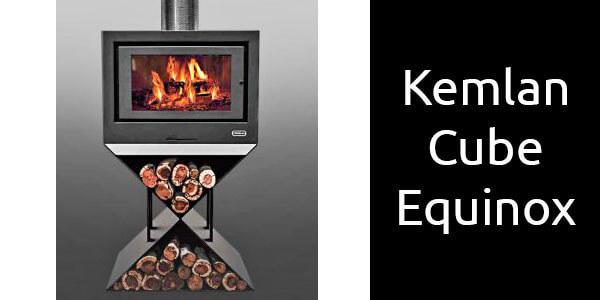 Kemlan Cube Equinox freestanding wood heater