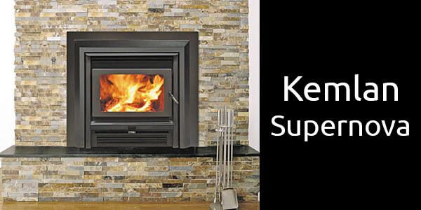 Kemlan Supernova inbuilt wood fireplace