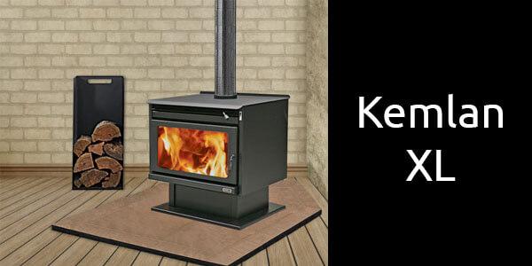 Kemlan XL large freestanding wood heater