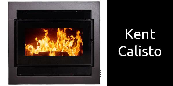 Kent Calisto inbuilt wood heater