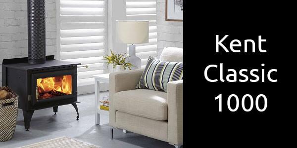 Kent Classic 1000 freestanding wood heater