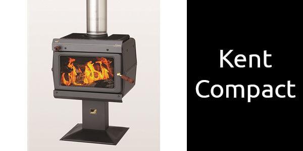 Kent Compact small freestanding wood heater