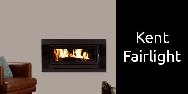 Kent Fairlight inbuilt wood fireplace