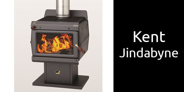 Kent Jindabyne freestanding wood heater