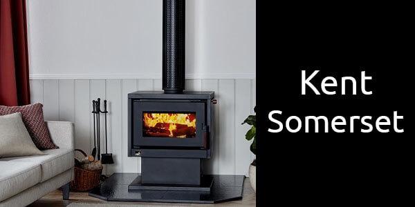 Kent Somerset freestanding wood heater