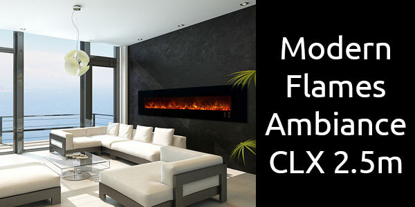 Modern Flames Ambiance CLX 2.5m
