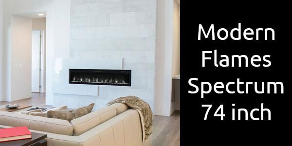 Modern Flames Spectrum 74 inch