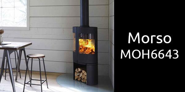Morso MOH6643 freestanding wood heater