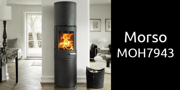 Morso MOH7943 freestanding wood fireplace