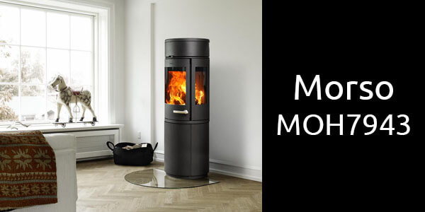 Morso MOH7943 medium freestanding wood heater