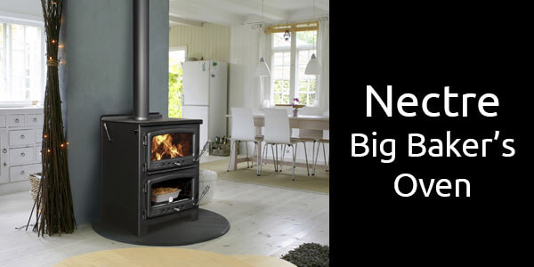 Nectre Big Baker's Oven wood fired stove and oven