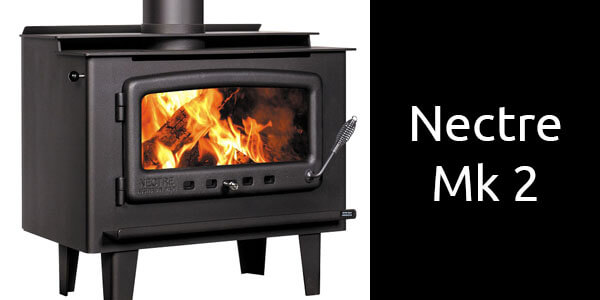 Nectre Mk 2 freestanding wood heater