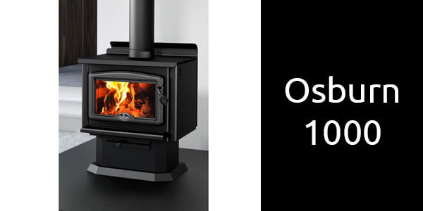 Osburn 1000 freestanding wood heater