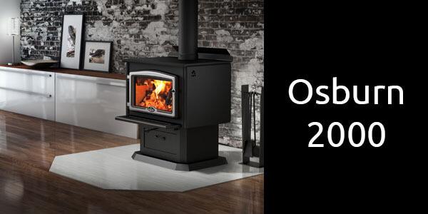 Osburn 2000 freestanding wood heater