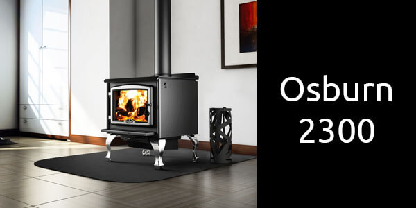 Osburn 2300 freestanding wood heater