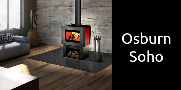 Osburn Soho freestanding wood heater