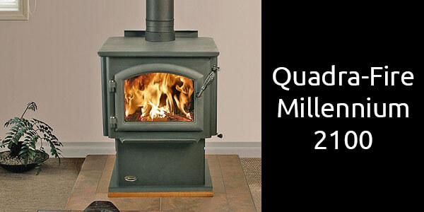 Quadra-Fire 2100 Millennium freestanding slow combustion wood fireplace