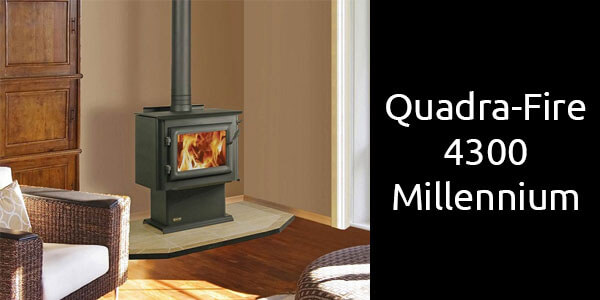 Quadra-Fire 4300 millennium slow combustion wood heater