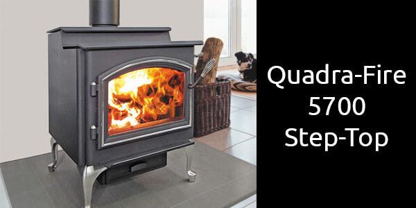 Quadra-Fire 5700 Step-Top slow combustion wood stove