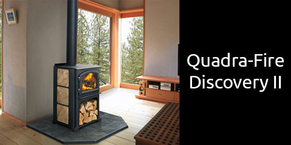 Quadra-Fire Discovery 2 freestanding wood heater